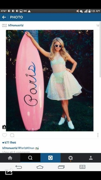 dress paris hilton surf