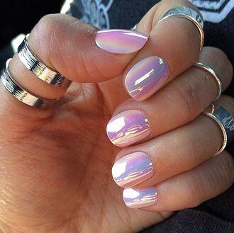 nail polish holographic shiny iridescent nail polish nail art