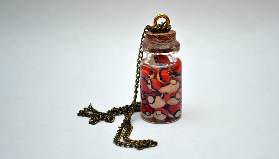 Miniature Bottle Necklace - POKEMON