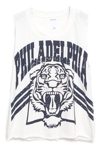Philadelphia tank top t shirt white tank philadelphia