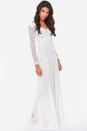 dress white dress white lace dress lace formal formal dress