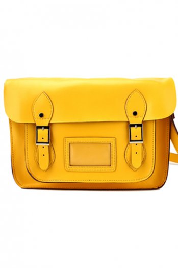 Academic style yellow bag [ab0038]