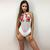 FLORAL EMBROIDED SWIMSUIT