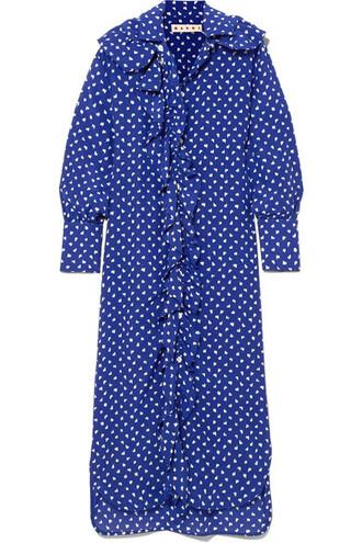 blouse blue silk top