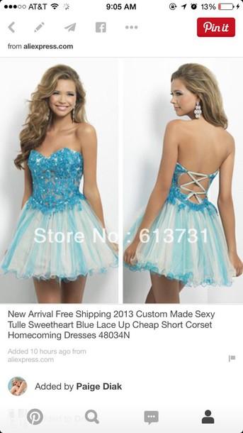 dress mini prom dress
