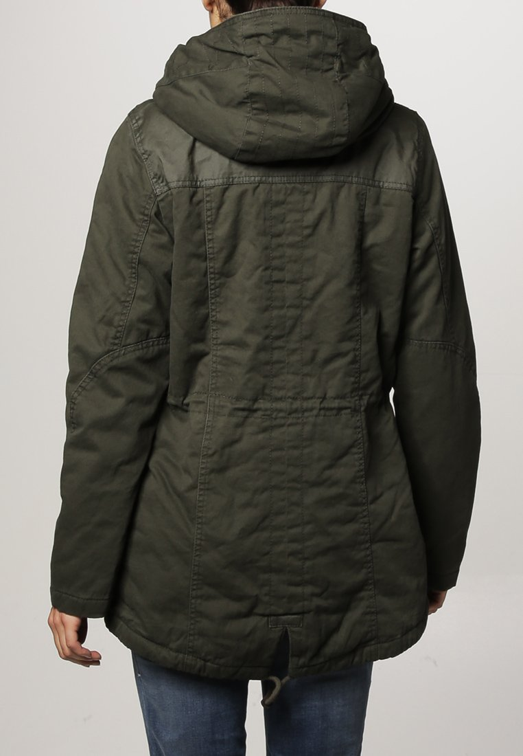 ONLY NEW LEEDS CANVAS - Parka - peat - Zalando.de