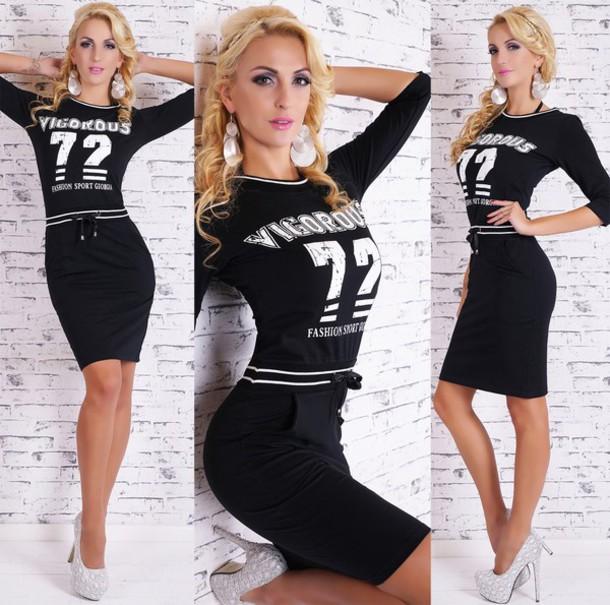 dress sportswear midi dress