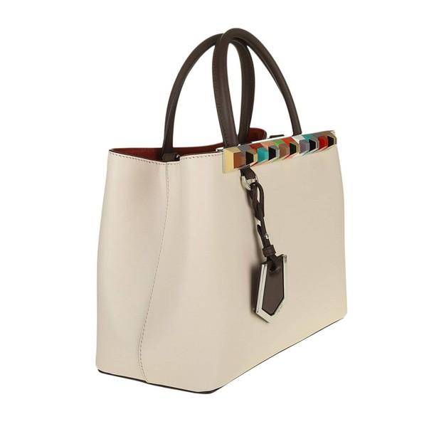 Fendi women bag handbag shoulder bag white