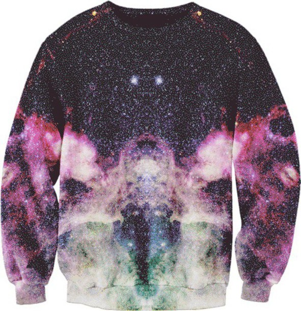 sweater galaxy sweater cozy sweater