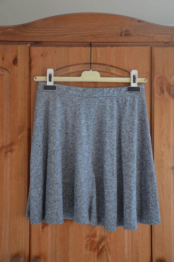 BNWOT Topshop grey skater skirt Size 10 | eBay