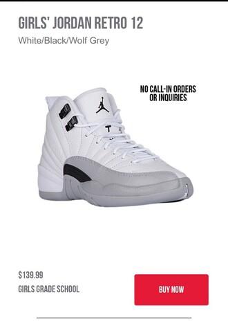 shoes size 4 retro jordans jordans white jordan retro 12