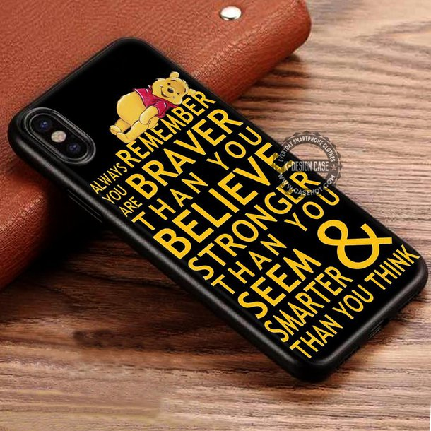phone cover cartoon disney winnie the pooh quote on it phone case iphone  cover iphone case eec56919315c