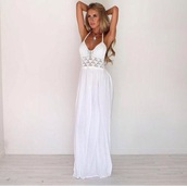 crochet,maxi,dress,maxi dress,white dress,long dress,sundress