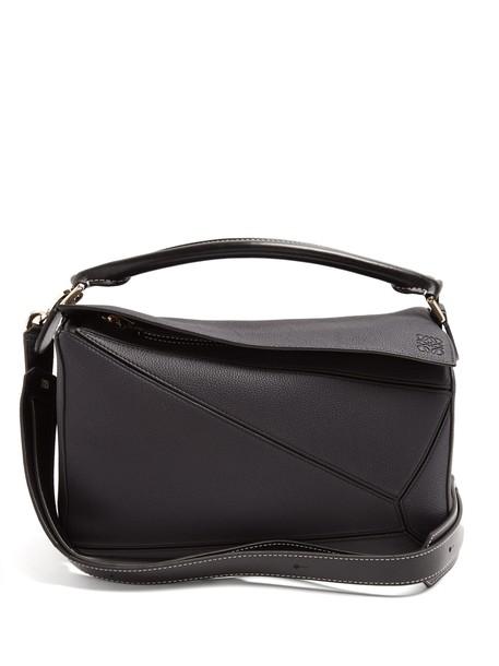 LOEWE bag leather bag leather black