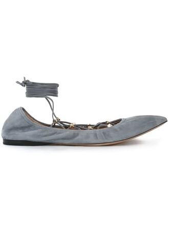 lace grey shoes
