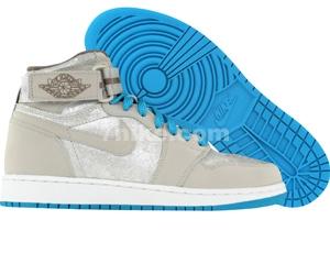 Air jordan high strap gris neutre argent m%c3%83%c2%a9tallis%c3%83%c2%a9 blanc bleu orion