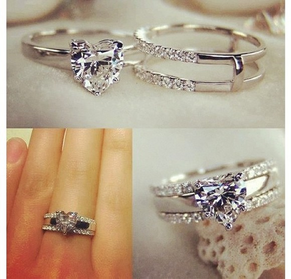 jewels heart ring
