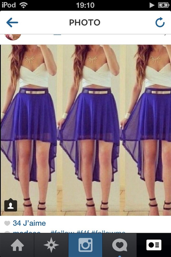 shirt skirt shorts shoes