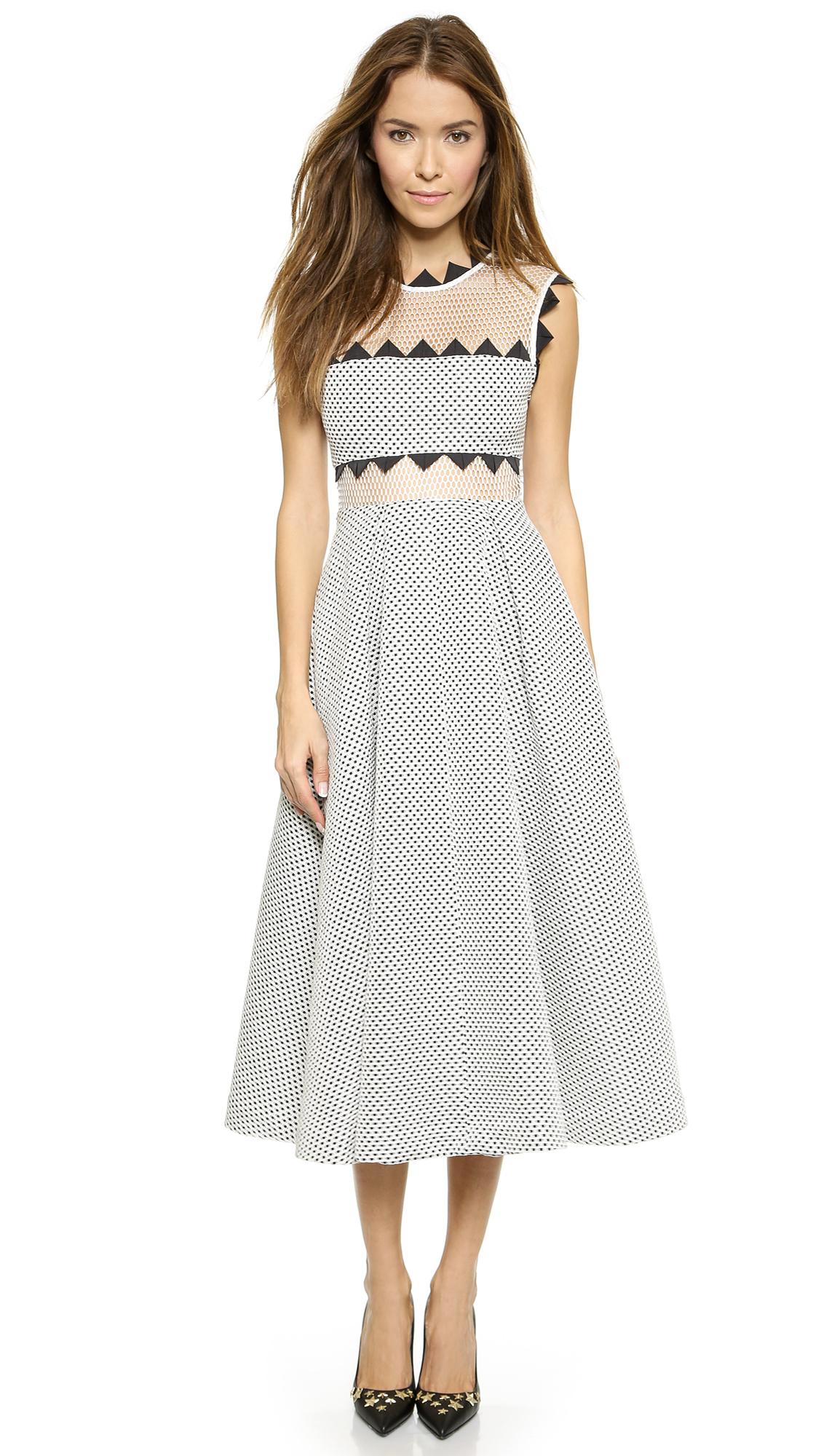 Self portrait lucille dress