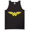 Wonder woman logo tanktop - basic tees shop