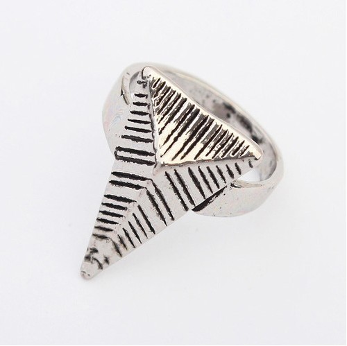 Fashion Silver Metal Ring_Ring_Jewellery_Cheap Clothes,Cheap Shoes Online,Wholesale Shoes,Clothing On lovelywholesale.com - LovelyWholesale.com