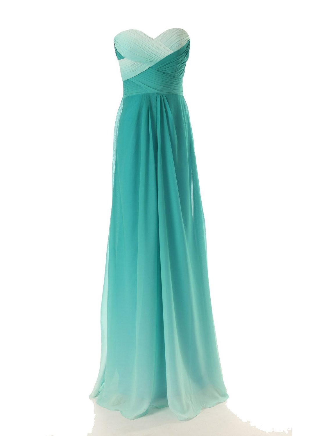 Princess sweetheart floor length chiffon green prom dress with sequin napd0019 sale at shopindress.com