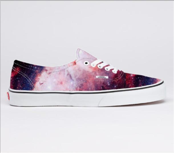 4d9aac570de7 galaxy print vans purple shoes pink shoes cosmic stars blue shoes shoes