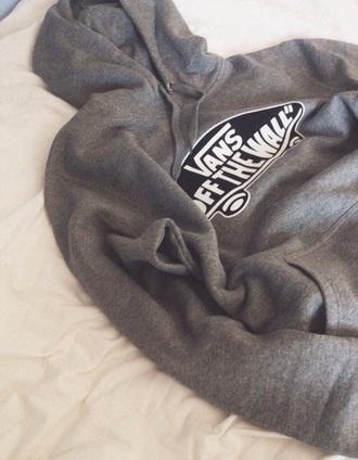 sweater vans grey
