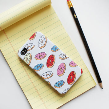 Donuts iPhone Case Phone Cover on Wanelo