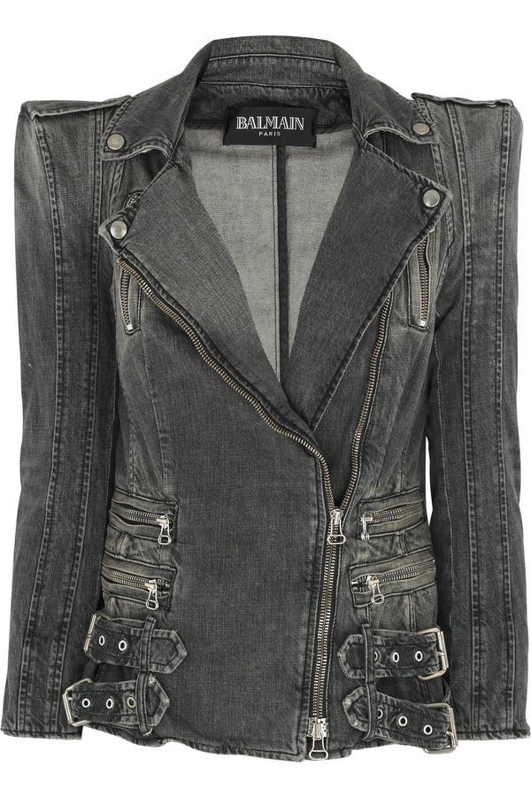 Пиджак из джинсовой ткани своими руками