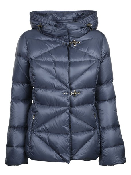 FAY jacket quilted blue