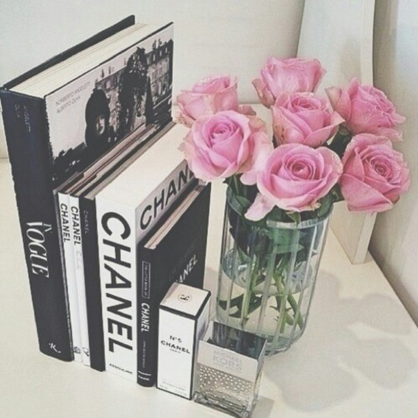 home accessory chanel book vase
