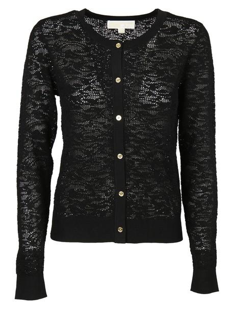 Michael Kors cardigan lace cardigan cardigan lace black sweater