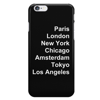 phone cover black and white aesthetic iphone case paris london new york city chicago amsterdam tokyo los angeles