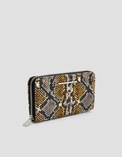 zip,dark,purse,print,grey,bag