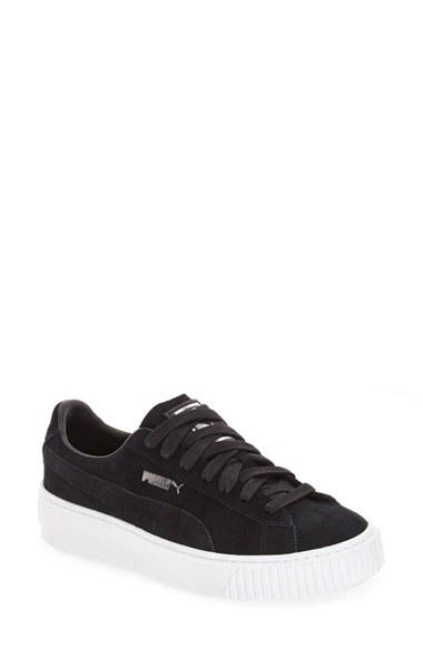 PUMA Suede Platform Sneaker (Women)   Nordstrom
