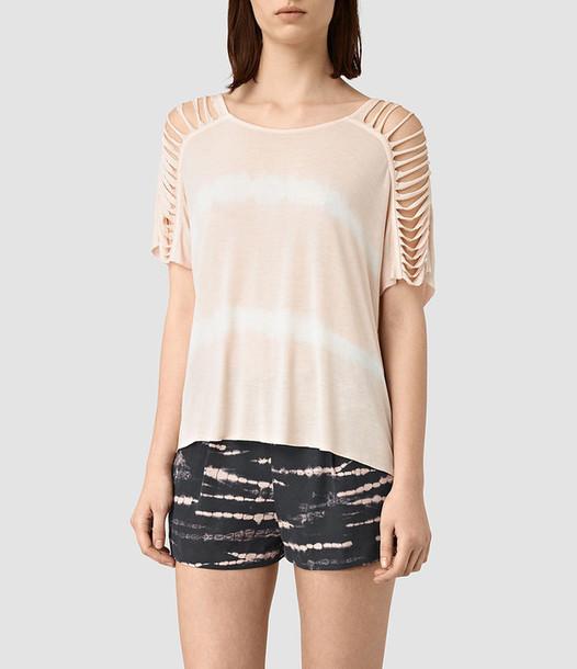 top tie dye t-shirt