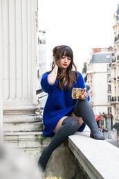 meet me in paree,blogger,sweater,socks
