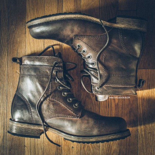 Shoes: mens boots, levi's, boots, hipster menswear - Wheretoget