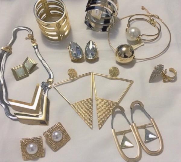 jewels fashion jewelry gold bracelets ring girly