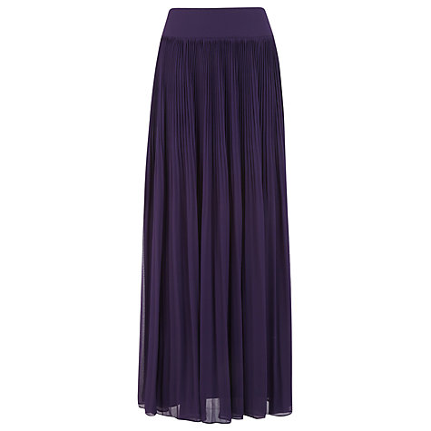 Kaliko Pleated Maxi Skirt online at John Lewis