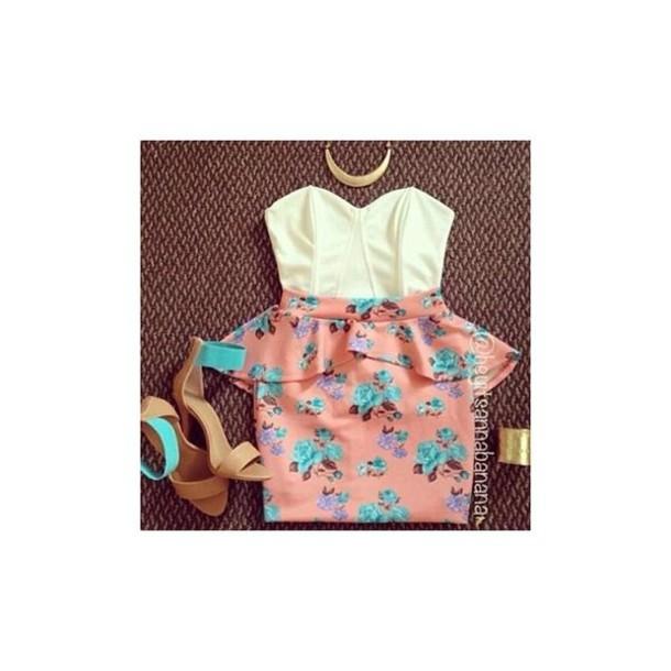 dress floral pink floral short dress peach peach dress white floral short dress