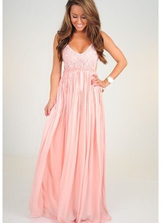 dress pink maxi dress light pink