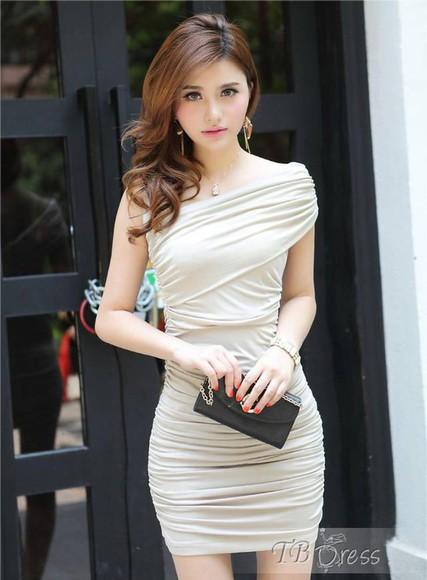 tbdress-club dress cute cute dress girly white dress white black elegant elegant dress