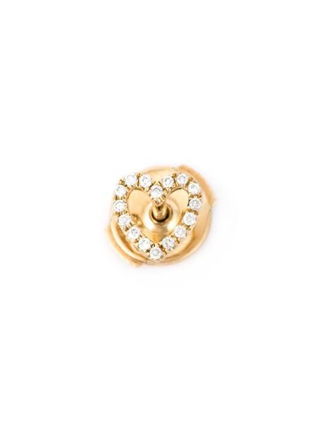 LOQUET heart women gold grey metallic jewels
