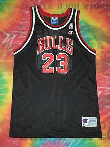 Kids Vtg NBA Chicago Bulls 23 Jordan Champion Printed Basketball Jersey XL | eBay