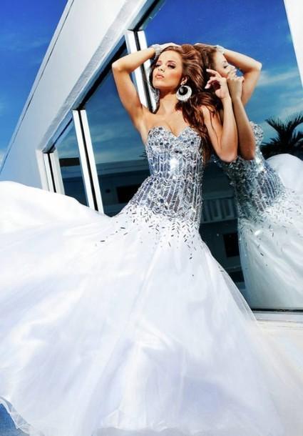 dress prom dress prom dress white