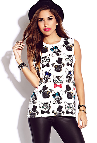 Snazzy Animal Muscle Tee | FOREVER21 - 2000074052