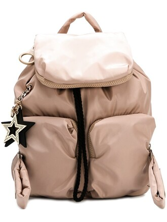 backpack nude bag
