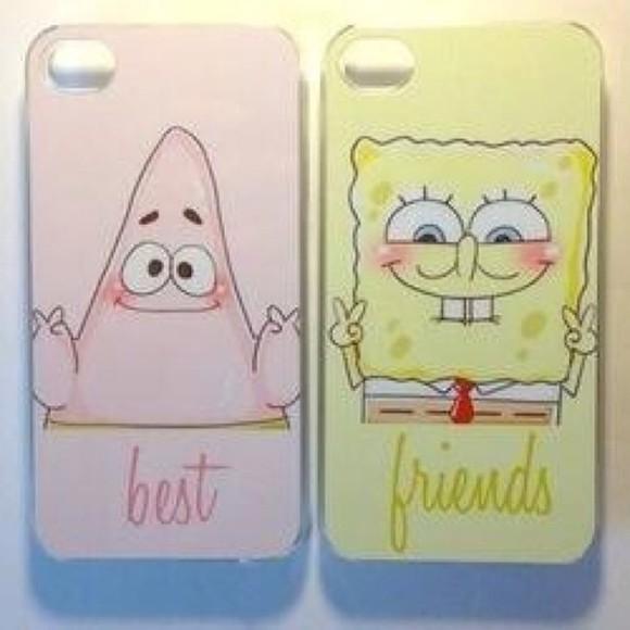 iphone case phone case iphone 4 case spongebob patrick